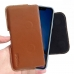 iPhone XR Leather Holster Pouch Case (Brown) handmade leather case by PDair