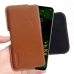 LG G8 ThinQ Leather Holster Pouch Case (Brown) handmade leather case by PDair