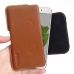 OPPO A77 Leather Holster Pouch Case (Brown) handmade leather case by PDair