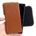 Sony Xperia XZ2 Leather Holster Pouch Case (Brown) handmade leather case by PDair