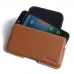 Acer Liquid Z630 Leather Holster Pouch Case (Brown) handmade leather case by PDair