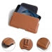 Asus Zenfone 4 Pro Leather Holster Pouch Case (Brown) protective carrying case by PDair