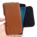 Asus Zenfone 3 Zoom Leather Holster Pouch Case (Brown) handmade leather case by PDair