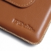 Asus Zenfone 3 Deluxe Leather Holster Pouch Case (Brown) offers worldwide free shipping by PDair