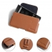 BlackBerry Motion Leather Holster Pouch Case (Brown) protective carrying case by PDair
