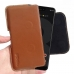 Google Pixel 3 XL Leather Holster Pouch Case (Brown) handmade leather case by PDair