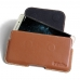 LeEco Le Pro 3 Leather Holster Pouch Case (Brown) handmade leather case by PDair