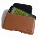 Moto X Play Leather Holster Pouch Case (Brown) handmade leather case by PDair
