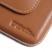 Moto X Play Leather Holster Pouch Case (Brown) offers worldwide free shipping by PDair