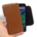 Moto X Style / Pure Edition Leather Holster Pouch Case (Brown) genuine leather case by PDair