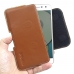 Moto Z Play Leather Holster Pouch Case (Brown) handmade leather case by PDair