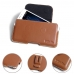 MEIZU U20 Leather Holster Pouch Case (Brown) protective carrying case by PDair