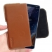 Nokia 9 PureView Leather Holster Pouch Case (Brown) handmade leather case by PDair