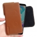 OnePlus 5T Leather Holster Pouch Case (Brown) handmade leather case by PDair
