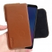 Samsung Galaxy A6s Leather Holster Pouch Case (Brown) handmade leather case by PDair