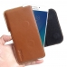 Samsung Galaxy C7 Pro Leather Holster Pouch Case (Brown) handmade leather case by PDair