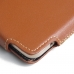 Samsung Galaxy On7 2016 Leather Holster Pouch Case (Brown) custom degsined carrying case by PDair