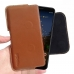 Google Pixel 3a XL Leather Holster Pouch Case (Brown) handmade leather case by PDair