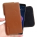 Luxury Leather Holster Pouch Case for HTC U12 Plus | U12+ (Brown)