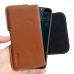 Luxury Leather Holster Pouch Case for HTC Desire 12 Plus | Desire 12+ (Brown)