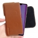 Huawei Enjoy 9 Plus Leather Holster Pouch Case (Brown) handmade leather case by PDair
