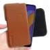 Huawei Honor Play 8A Leather Holster Pouch Case (Brown) handmade leather case by PDair