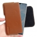 Huawei P30 Pro Leather Holster Pouch Case (Brown) handmade leather case by PDair