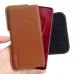 Huawei nova 4 Leather Holster Pouch Case (Brown) handmade leather case by PDair