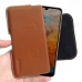 Huawei Y6 Pro (2019) Leather Holster Pouch Case (Brown) handmade leather case by PDair