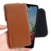 LG K40S Leather Holster Pouch Case (Brown) handmade leather case by PDair
