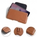 OnePlus 7 Leather Holster Pouch Case (Brown) protective carrying case by PDair