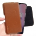 OnePlus 7 Leather Holster Pouch Case (Brown) handmade leather case by PDair