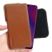 OPPO R17 Leather Holster Pouch Case (Brown) handmade leather case by PDair