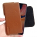 Samsung Galaxy A20 Leather Holster Pouch Case (Brown) handmade leather case by PDair