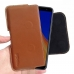 Samsung Galaxy J4+ | J4 Plus Leather Holster Pouch Case (Brown) handmade leather case by PDair