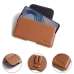 ViVO X23 Leather Holster Pouch Case (Brown) protective carrying case by PDair