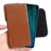 Xiaomi Redmi Note 8 Pro Leather Holster Pouch Case (Brown) handmade leather case by PDair