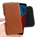 LG Q Stylus | Q Stylus+ Leather Holster Pouch Case (Brown) handmade leather case by PDair