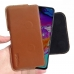 Samsung Galaxy A70 Leather Holster Pouch Case (Brown) handmade leather case by PDair