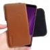 Samsung Galaxy A7 (2018) Leather Holster Pouch Case (Brown) handmade leather case by PDair