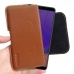Samsung Galaxy A9 (2018) Leather Holster Pouch Case (Brown) handmade leather case by PDair