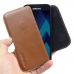 Samsung Galaxy A3 (2017) Leather Holster Pouch Case (Brown)  handmade leather case by PDair