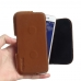 Asus Zenfone Live Leather Holster Pouch Case (Brown) handmade leather case by PDair