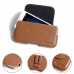 MEIZU U10 Leather Holster Pouch Case (Brown) protective carrying case by PDair