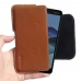 Nokia 7 Leather Holster Pouch Case (Brown) handmade leather case by PDair