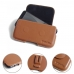 Xiaomi Mi 5c Leather Holster Pouch Case (Brown) protective carrying case by PDair
