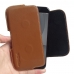 Xiaomi Mi 5c Leather Holster Pouch Case (Brown) handmade leather case by PDair