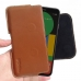 Google Pixel 4 Leather Holster Pouch Case (Brown) handmade leather case by PDair