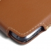 HTC 10 Leather Holster Pouch Case (Brown) custom degsined carrying case by PDair