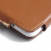 HTC Desire 530 630 Leather Holster Pouch Case (Brown) custom degsined carrying case by PDair